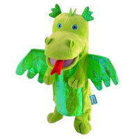 Green Dragon - Hand Puppet