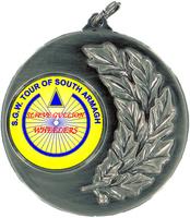 50mm Medallion (Antique Silver)
