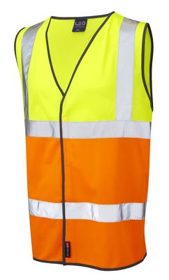 Tarka Class 2 Yellow/Orange Waistcoat
