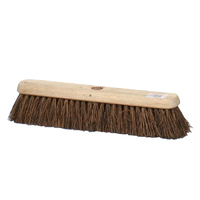 "18"" Contract Stiff Bassine Platform Broom Head Only (WT497/1)"