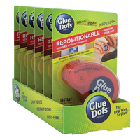 Glue Dots Dispenser Repositionable 125 dots - Tray Pack