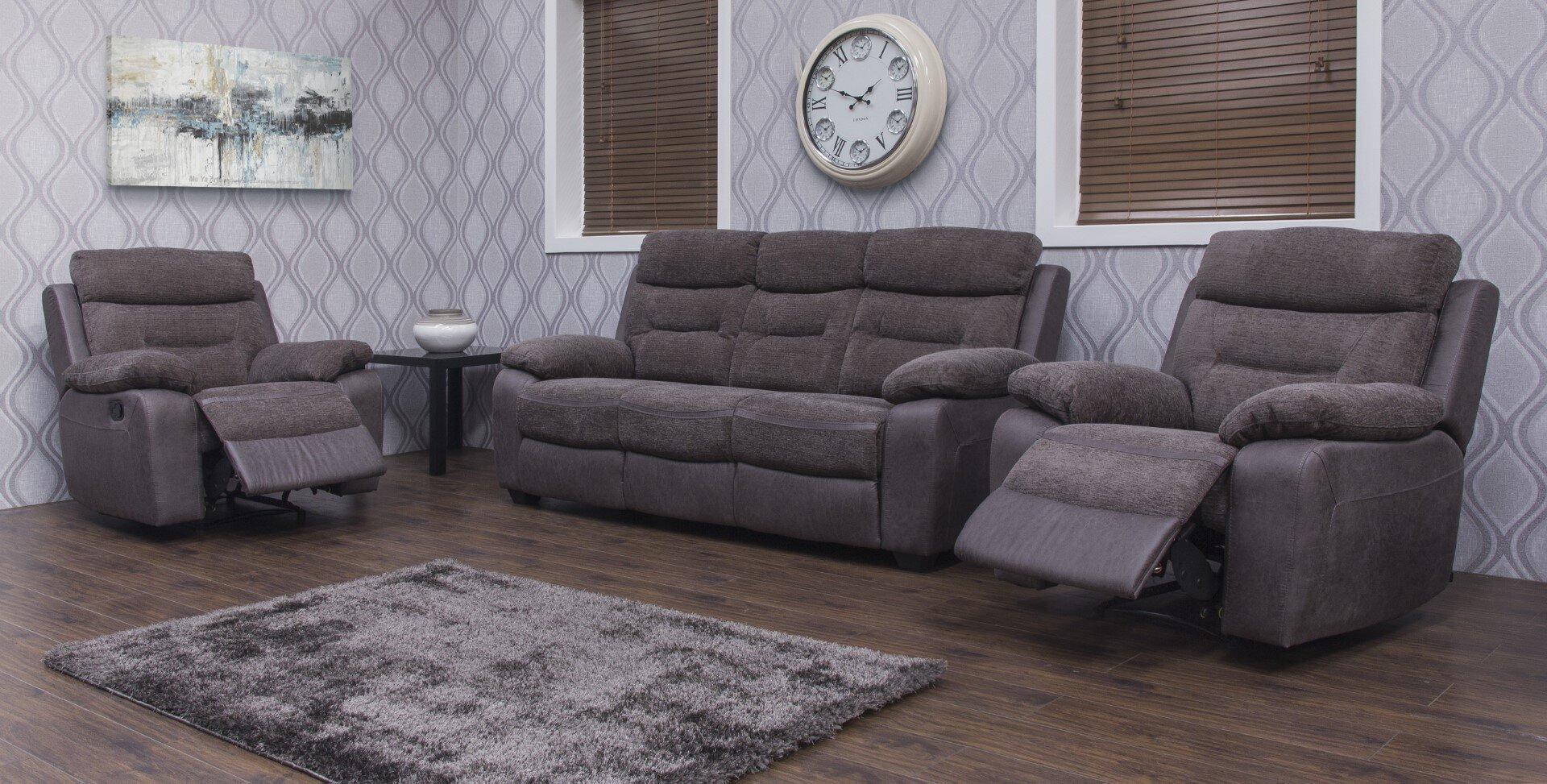 Melody Fabric Sofa - Dark Grey / Charcoal 3