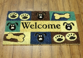 Doormat - Dog Welcome