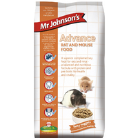 Mr Johnson's Advance Rat & Mouse Food 750g x 6