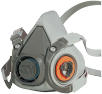 3M 6000 Series Half Face Mask Respirator