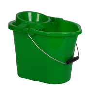 Standard socket mop bucket, 12ltr