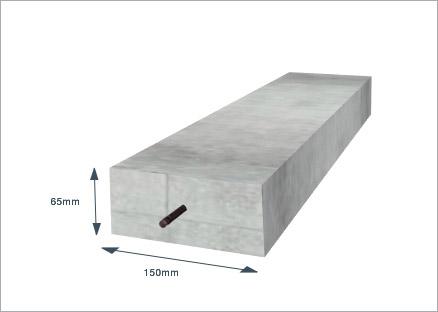 concrete lintel 150 x 65mm x 1680mm 6x3 x 5ft 6 goodwins
