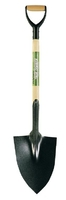 DARBY SOLID ''D'' HANDLE POINTED SHOVEL