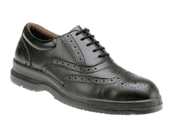 REDBACK Executive Brogue Safety Shoe S1P SRC