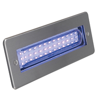 ANSELL Libretto Blue LED Rectangular