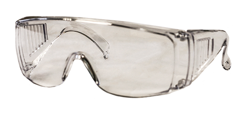 DMI Adult Safety Glasses Clear - DMI Dental Supplies Ireland - Next Day Delivery