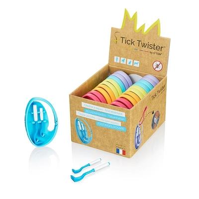 O'Tom Tick Twister Clipbox Display Box (20)