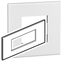 Arteor (British Standard) Plate + Support 6m Square White | LV0501.0101