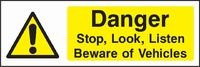 Warning and General Sign WARN0007-1643