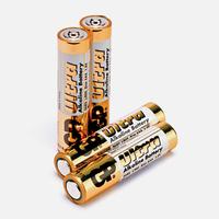 AAA Blister pck Batteries per 4 pck