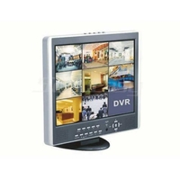 VP8-15 |  8 CHANNELS DIGITAL VIDEO RECORDER WITH LCD SCREEN.