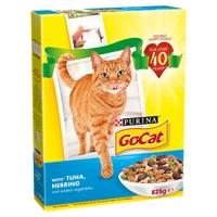 Go-Cat Adult Cat Tuna Herring & Veg 825g x 5