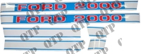 Decal Kit Force Ford 2000