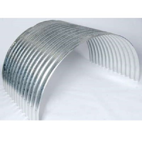 Corrugated curved Arch for pigs