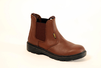 FOURLAKES BROWN DEALER BOOT S1P
