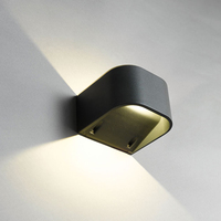 ANSELL Gila 4000K LED Wall Light, Graphite