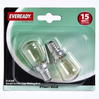 EVEREADY CLEAR PYGMY LAMP SES 15W