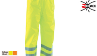 REDBACK Hi-Visibility Waterproof Nylon Trousers Yellow or Orange