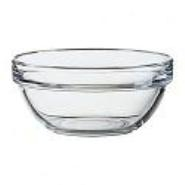 Arcoroc Mixing / Salad Bowl Glass Stacking 120mm Dia