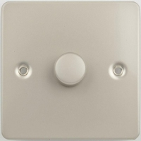 Flat Plate PN DIMMER  1g 2way| LV0701.0159