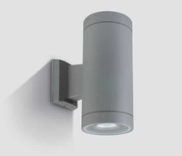 ONE Light Square Grey Surface bi-directional Wall Light IP54