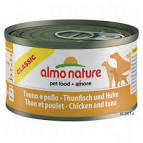 Almo Nature Classic Adult Dog Can - with Tuna & Chicken 95g x 24