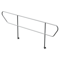 Global Truss GT Stage Deck Adjustable Stair Handrail - Left