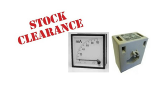 Sell Off - Panel Meters & CT's