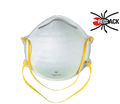 REDBACK Dust Mask with No Valve FFP1 (Box 20)