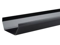 S.LINE BLACK GUTTER 4MTR