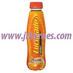 380 Orange Lucozade Bottle x24