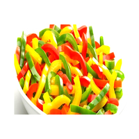 Ardo Frozen Peppers Sliced Mix (Yellow,Green & Red) (1kg)