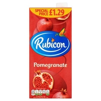 box pomegranate juice 1 liter x6