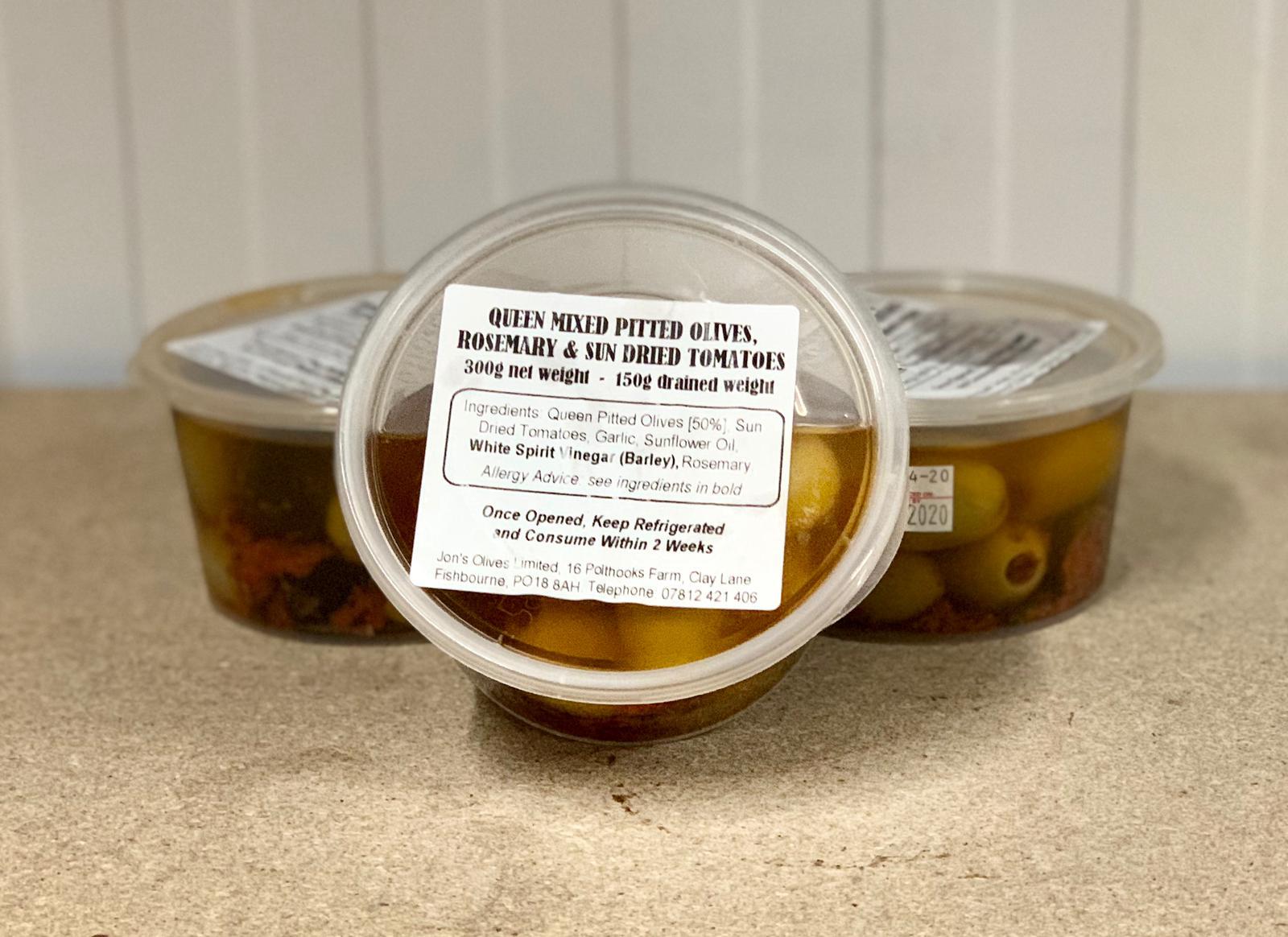 Mixed Rosemary Olives