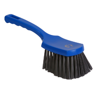 Detectable churn brush - medium/stiff PBT churn brush, 275mm, blue