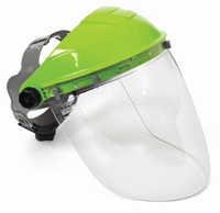 Tuff-Shield Browguard & High Impact Clear Visor