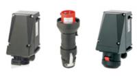 CALEX-0350 16A 110V 3 PIN Socket