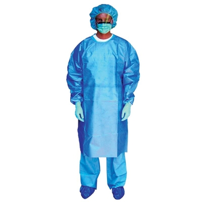 Chemotherapy Gown (Blue)