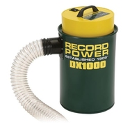 RECORD DX1000 FINE FILTER 45 LITRE EXTRACTOR SINGLE MOTOR- 1000WATT - 0.5MICRON FILTRATION RATING