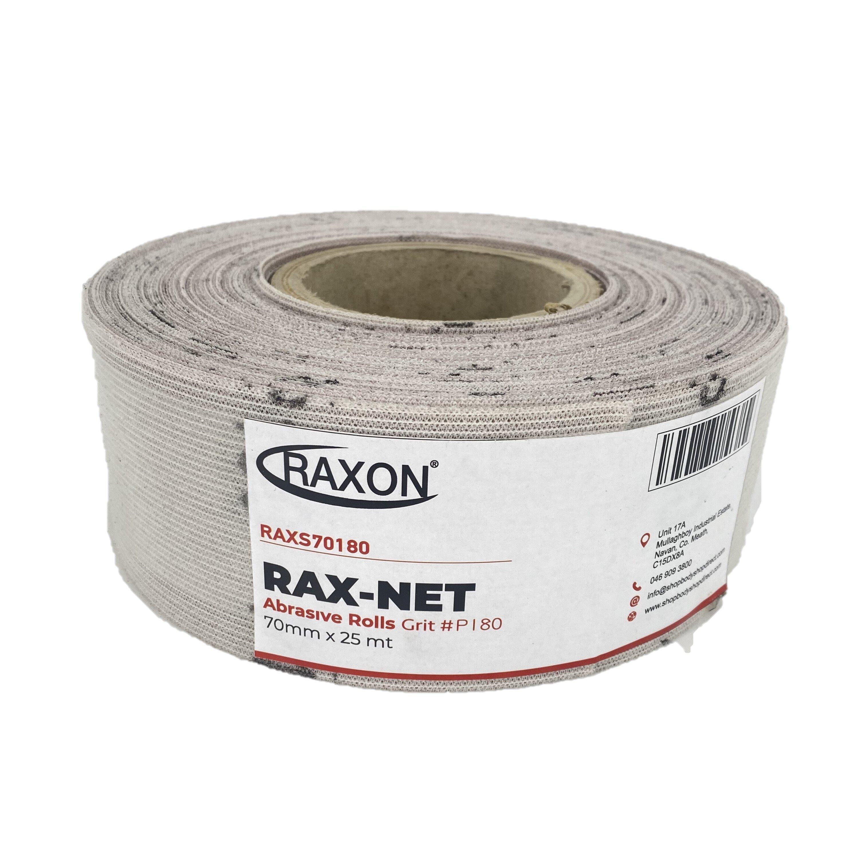 RAX-NET 70mm X 25MTR P180