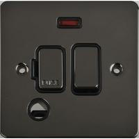 Flat Plate Black Nickel 13A Switch FSD F/0+N BLANK | LV0701.0491