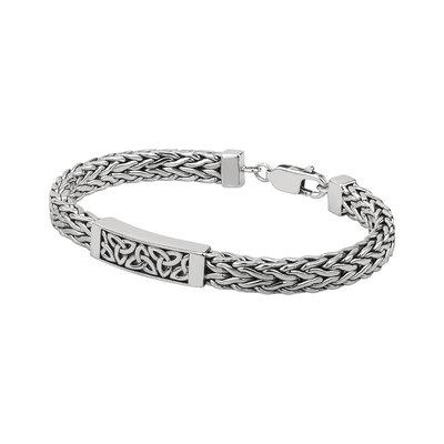 sterling silver trinity knot bracelet s50038 from Solvar