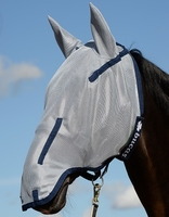 Buzz-Off 125/S Full Fly Mask Blu