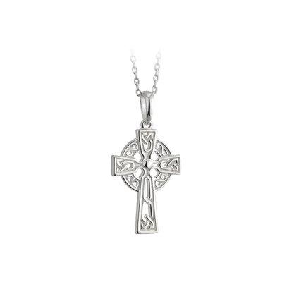sterling silver filagree celtic cross pendant s44785 from Solvar