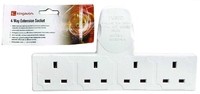 KINGAVON BB-PA098 4 WAY EXTENSION SOCKET